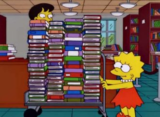 20 Books On Lisa Simpson's Bookshelf