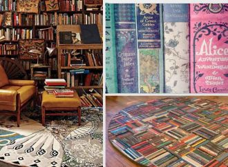20 Book Rugs For Your Home Library