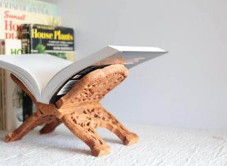 15 Beautiful Book Stands And Holders