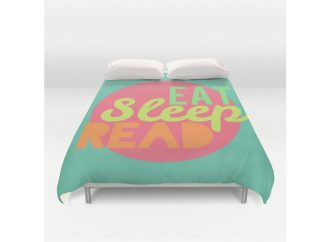 20 Literary-Themed Bedspreads, Duvet Covers, And Comforters