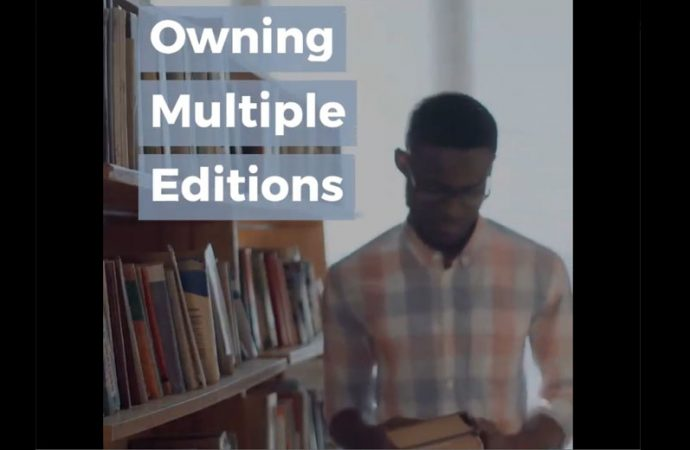 Owning Multiple Editions | Shelf-Control Problems