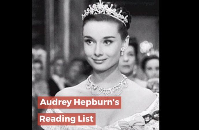 Audrey Hepburn's Reading List