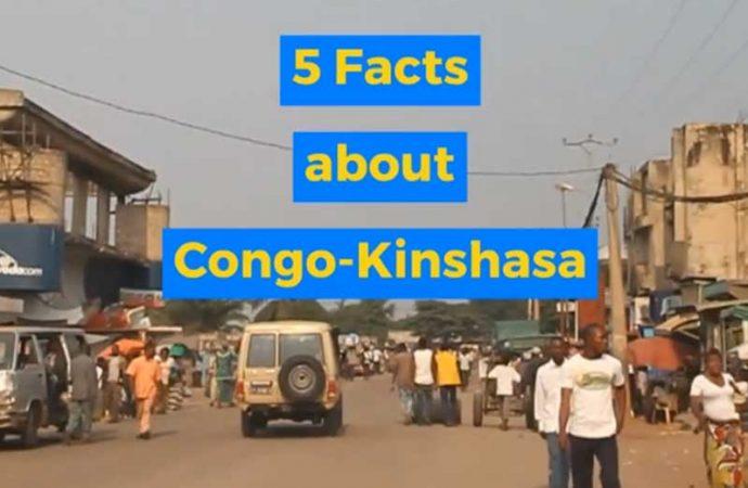 5 Facts About Congo-Kinshasa From Africa Memoir