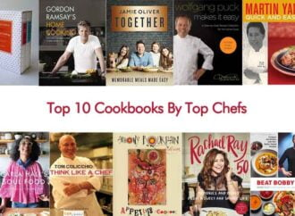 Top 10 Cookbooks By Top Chefs