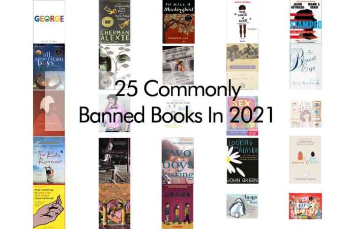 25 Commonly Banned Books In 2021