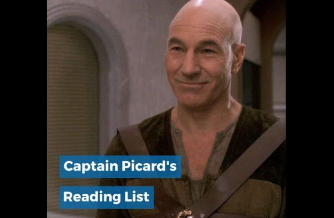 Captain Picard's Reading List